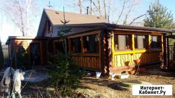 Оцилиндрованная кедровая баня/дом Саратов