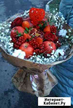 Букеты из конфет, фруктовые букеты Альметьевск