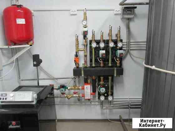 Монтаж систем отопления, водоснабжения и канализац Тула