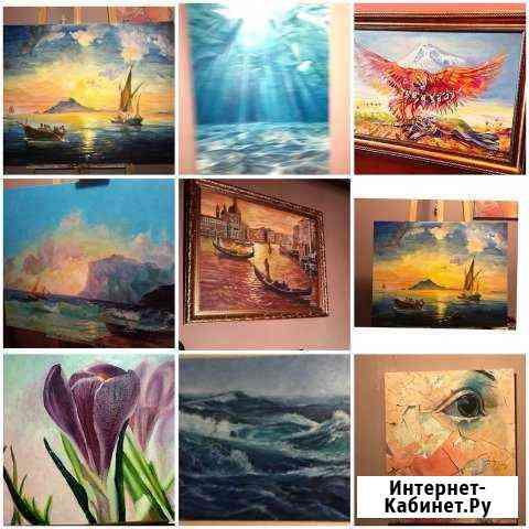 Картины на заказ,масло-холст Москва