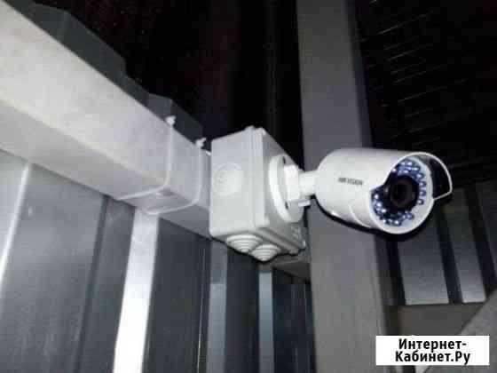 Установка видеонаблюдения и видеодомофона Ишимбай