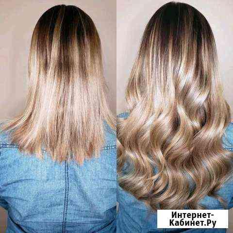 Наращивание волос. Кератиновое выпрямление Новосибирск