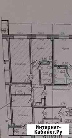 2-комнатная квартира, 56 м², 4/10 эт. Сосновоборск
