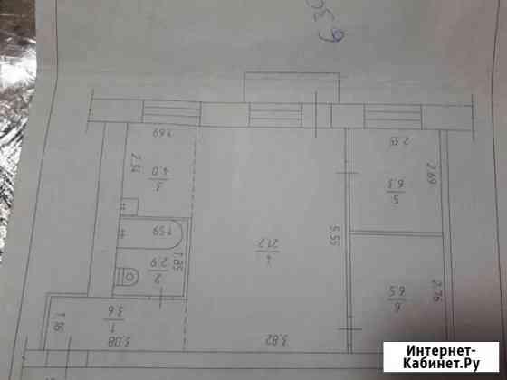 2-комнатная квартира, 44 м², 5/5 эт. Юрга