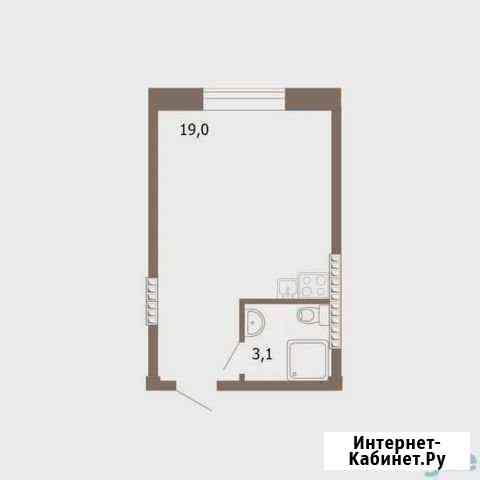 Студия, 23 м², 3/5 эт. Лесосибирск