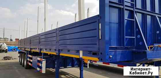 Бортовой полуприцеп «CLPC» 60 тонн 3 оси рессорная подвеска Хабаровск