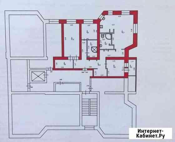 4-комнатная квартира, 106 м², 6/6 эт. Нарьян-Мар