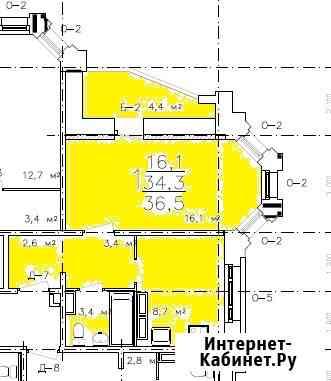 1-комнатная квартира, 36,5 м², 14/17 эт. Владимир