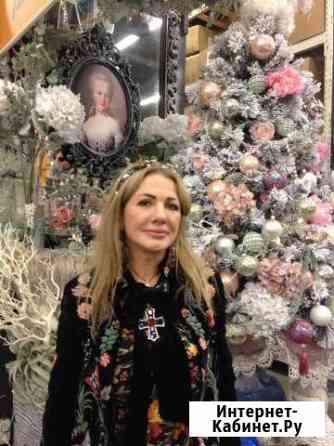 Новогоднее оформление дизайнерские елки Москва