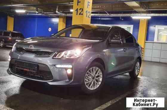 Аренда автомобиля с водителем Kia Rio 2019 Мурманск