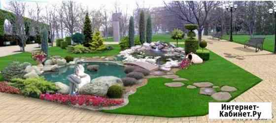 Ландшафтный дизайн, все виды ландшафтных работ Яблоновский