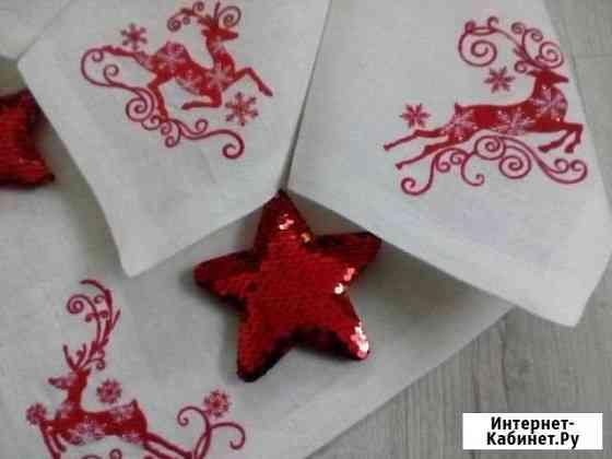 Текстильный декор, машинная вышивка Петрозаводск