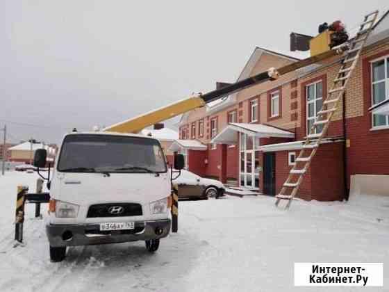 Услуги автовышки агп 16м, Камаз-манипулятор стрела Уфа