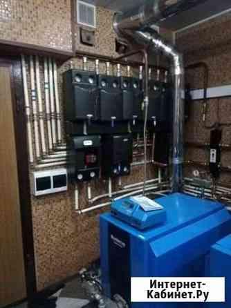 Отопление водоснабжение монтаж Малаховка