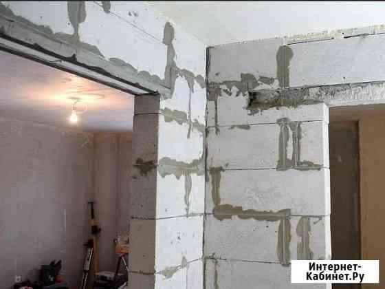 Профессионально стены межкомнатные перегородки Анапа