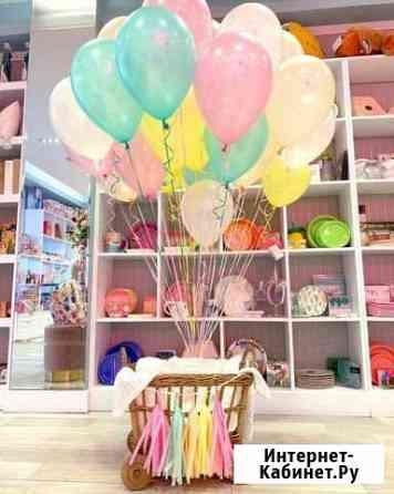 Воздушные шары с гелием Москва