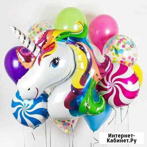 Воздушные и гелиевые шары с бесплатной доставкой Санкт-Петербург