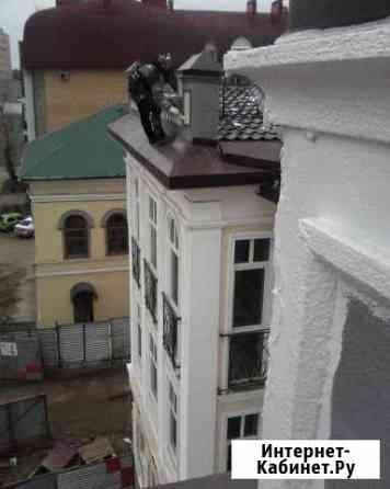 Уборка снега с крыш Монтаж баннера Спил деревьев Казань