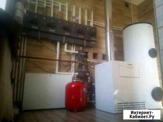 Монтаж отопления и инжинерных сетей Тула