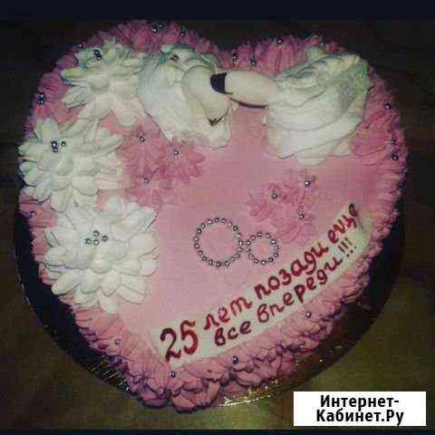 Домашние торты на заказ Кемерово