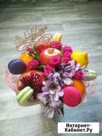 Букеты из фруктов, овощей, конфет Красноярск