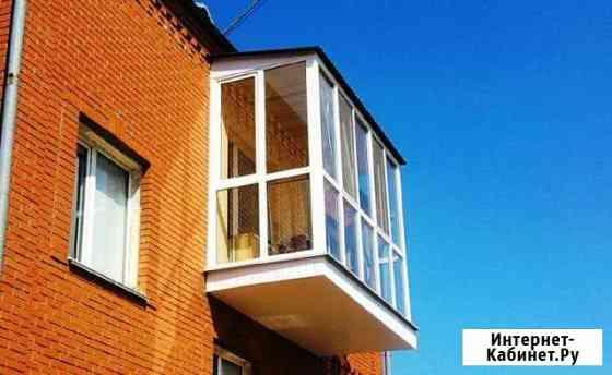 Остекление балконов, лоджий. Балкон под ключ Железнодорожный