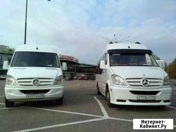 Заказ микроавтобуса Mersedes Sprinter 20 мест Иваново