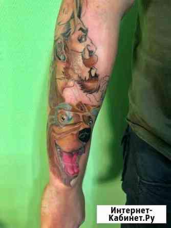 Художественная татуировка, тату, тату мастер Москва