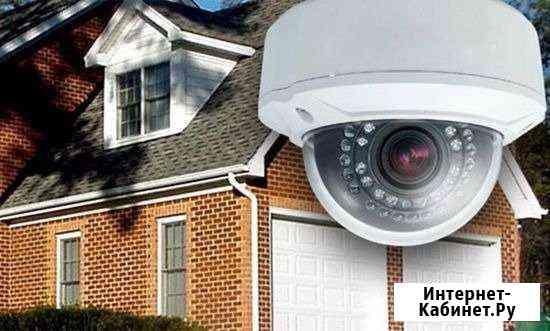 Установка камер видеонаблюдения, домофонов Нурлат