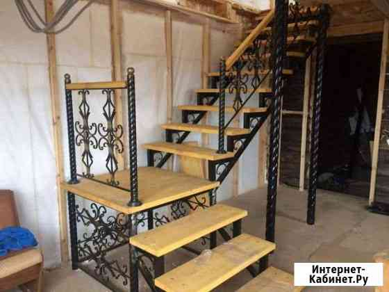 Лестницы на металлокаркасе Курган
