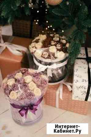 Букет шоколадных роз Брянск