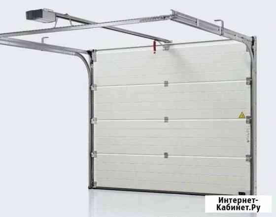 Гаражные секционные ворота Майкоп