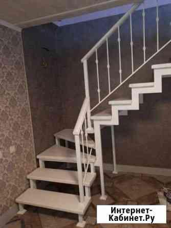 Лестница на металлическом каркасе Курган