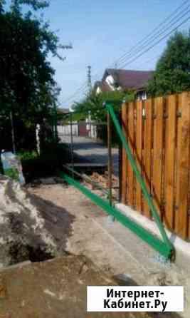 Откатные ворота навесы под машину котлы длительног Калининград