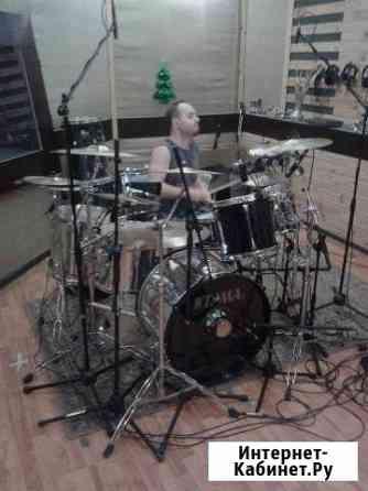 Уроки игры на барабанах (ударной установке) Владимир