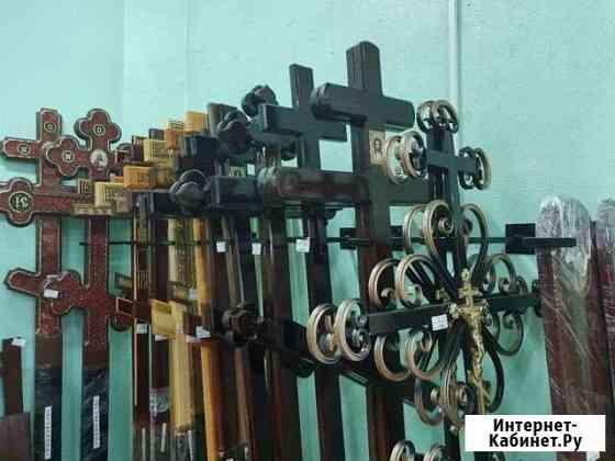 Деревянные кресты из лиственницы и сосны Тобольск