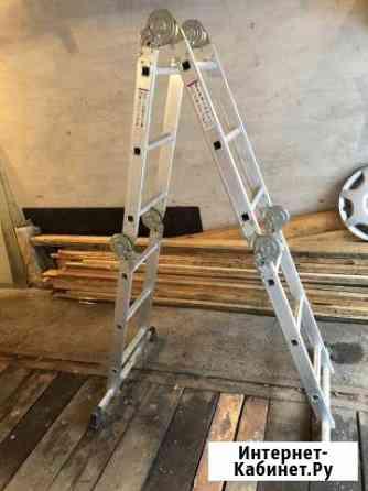 Аренда (прокат) лестницы-трансформера 3,3 м 4 секц Красноярск