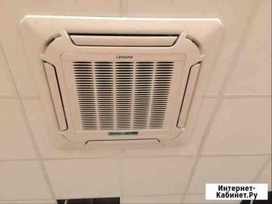Монтаж кондиционеров тепловых завес вентиляции Кингисепп