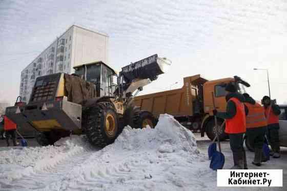 Вывоз мусора, чистка снега, аренда погрузчиков и г Тюмень
