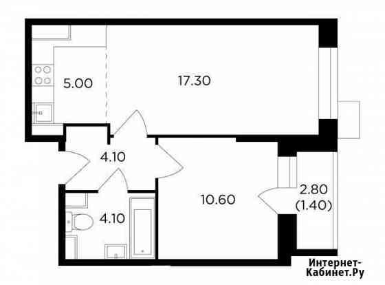 2-комнатная квартира, 42.5 м², 17/17 эт. Мытищи