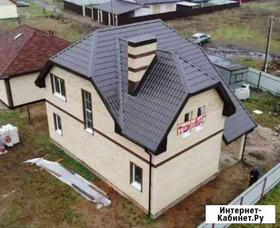 Дом 140 м² на участке 8 сот. Дружба