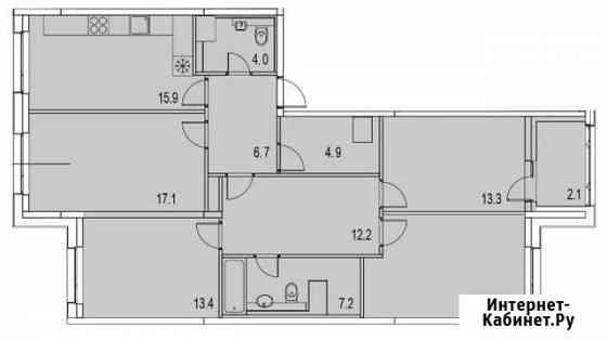 5-комнатная квартира, 112 м², 11/13 эт. Санкт-Петербург