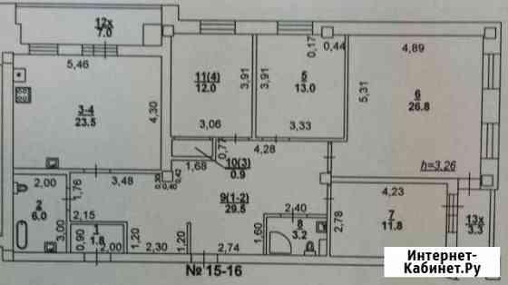 4-комнатная квартира, 140 м², 3/6 эт. Ростов-на-Дону