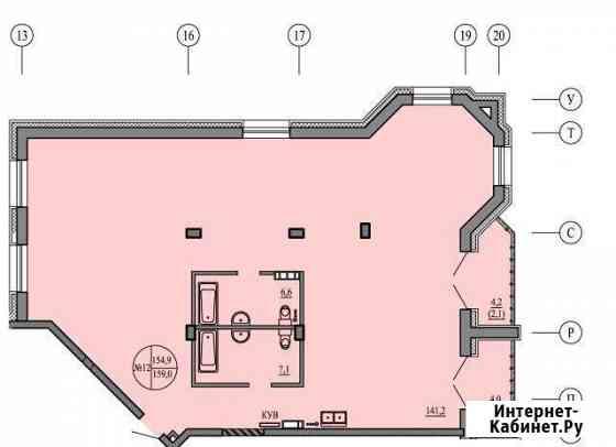 4-комнатная квартира, 159 м², 3/5 эт. Чита