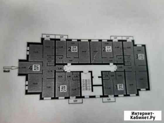 4-комнатная квартира, 93 м², 8/10 эт. Волгоград