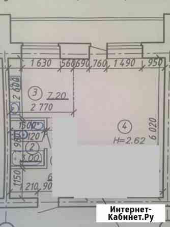 Своб. планировка, 39.8 м², 6/6 эт. Хабаровск