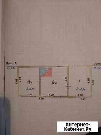 Дом 56 м² на участке 10 сот. Нововоронеж