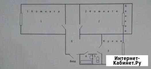 2-комнатная квартира, 60 м², 8/10 эт. Белгород