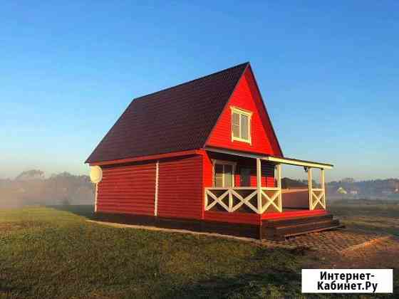 Дом 100 м² на участке 18 сот. Опочка