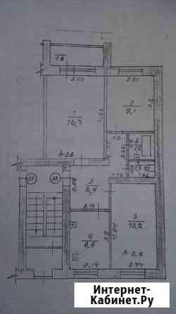 3-комнатная квартира, 59 м², 1/5 эт. Саранск